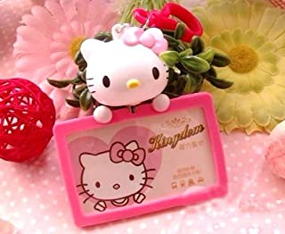 3D Hello Kitty NURSE OFFICE ID Badge Card Holder Retractable