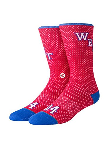 Stance 2018 NBA All-Star Game Unisex 92 West Socks Large Red by Stance