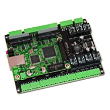 Motion Control Mach3 Cnc Breakout Board Smooth Steppper CM-106ESS Ethernet Connection High Performance.