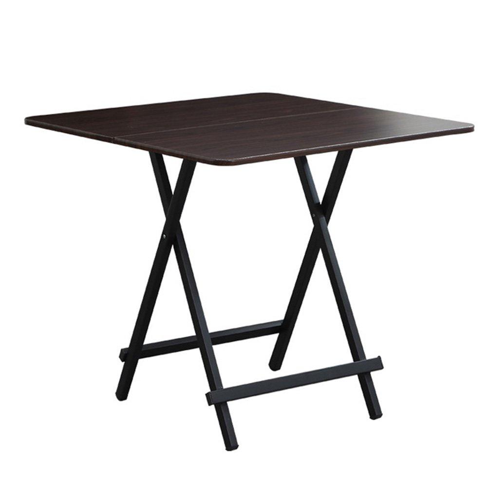 XIAOLIN ダイニングテーブルポータブルフォールディングハンドホームシンプルミールテーブルコンピュータテーブル小さなスクエアテーブル屋外ストール小さなアパートオプションカラー (色 : 08) B07D55V9RN 8 8