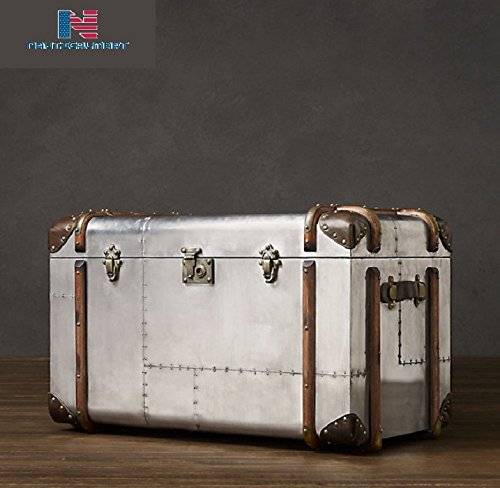 NAUTICALMART Coffee Table Trunk Home Decor Furniture