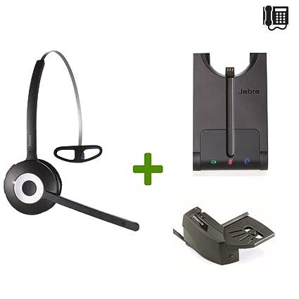 Superbe Nortel Compatible Jabra PRO 920 Wireless Headset Bundle | Electronic Remote  Answerer Included | Nortel Phones