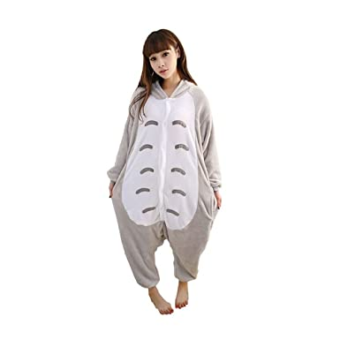 Outdoor Top Winter Warm Flannel Onesie Pajamas Adult Unisex One Piece Totoro  Pajama  Amazon.co.uk  Clothing 7bb6ff3d4