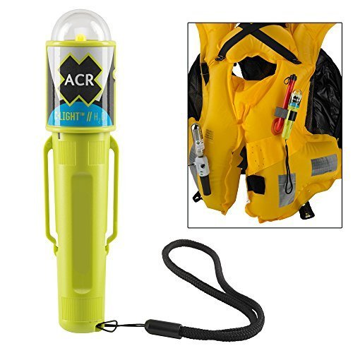 Acr C-Light H20, Led Pfd Vest Light W/Clip, Water-Activated (Part #3962.1 By Acr Electronics)