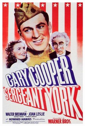 Sergeant Poster York - 27 x 40 Sergeant York Movie Poster