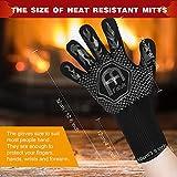 BBQ Gloves - Falluk 1472℉ Extreme Heat Resistant