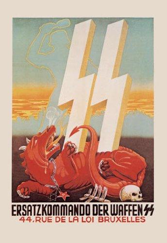 Waffen SS Recruitment 20x30 poster (Poster Waffen Ss)