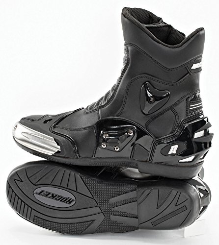 Joe Rocket Men's Superstreet Boots (Black, Size 10) (Motorcycle Oneal Boots)