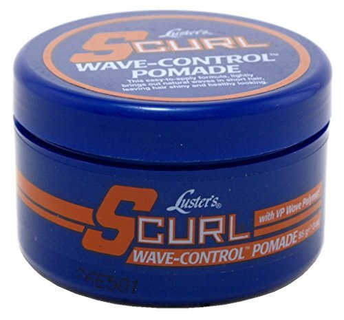 Lusters S-Curl Wave Control Pomade 3 Ounce (88ml) (2 Pack)
