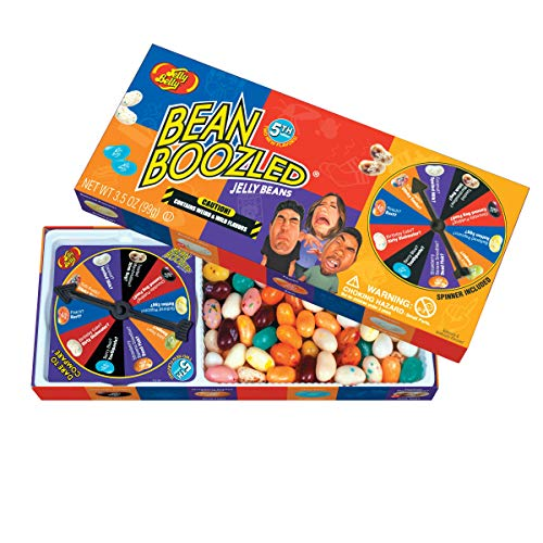 Birthday Jelly - Jelly Belly BeanBoozled Jelly Beans Spinner Gift Box, 5th Edition, 3.5-oz