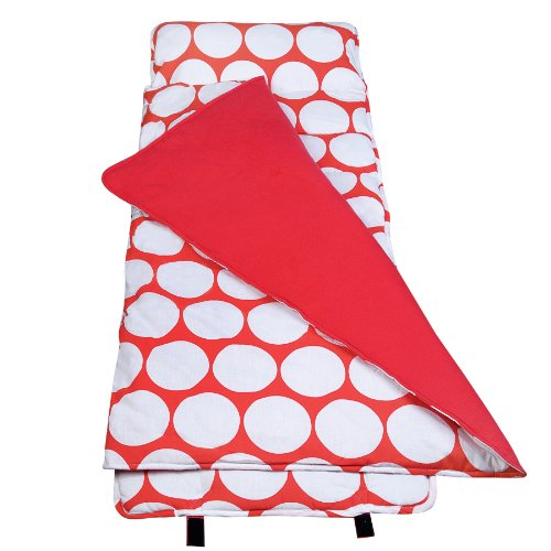 Wildkin Safe Nap Mat Big Dot Red And White The Glass