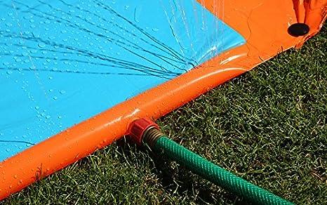 H2OGO Triple Water Slide w// Speed Ramp Bestway Toys Domestic 52200E