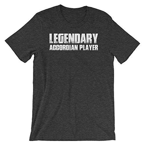 BagParadise Legendary Accordian Player Funny T-Shirt(Royal Blue-XS)