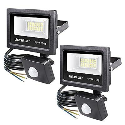 Ustellar LED Flood Light with Sensor
