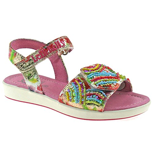 Lelli Kelly LK9419 (BX02) Arcobaleno Multi Fantasy Sandals-33 (UK 1)