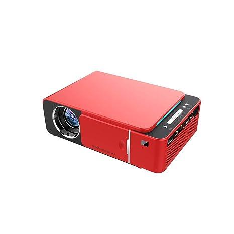 ACCADEMT Proyectores LED Proyector, Mini Cine en Casa portátil de ...