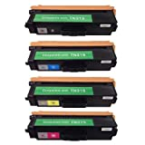 HI-VISION HI-YIELDS Compatible Toner Cartridge Replacement for Brother TN315 (1 Black, 1 Cyan, 1 Yellow, 1 Magenta, 4-Pack), Office Central