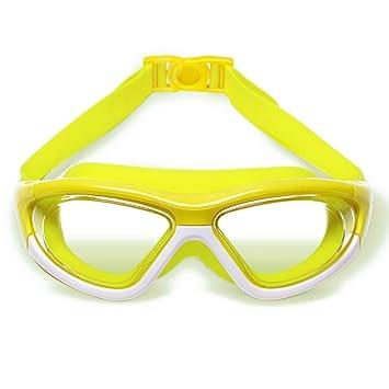 Swimming goggles Gafas de Niebla Impermeables para niños - Boy and Girl HD Chapado en Transparentes Gafas de natación Grandes Combinación - Natación ...