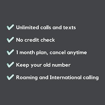 SMARTY Tarjeta SIM con 1 GB de Datos, Llamadas ilimitadas y Textos ...