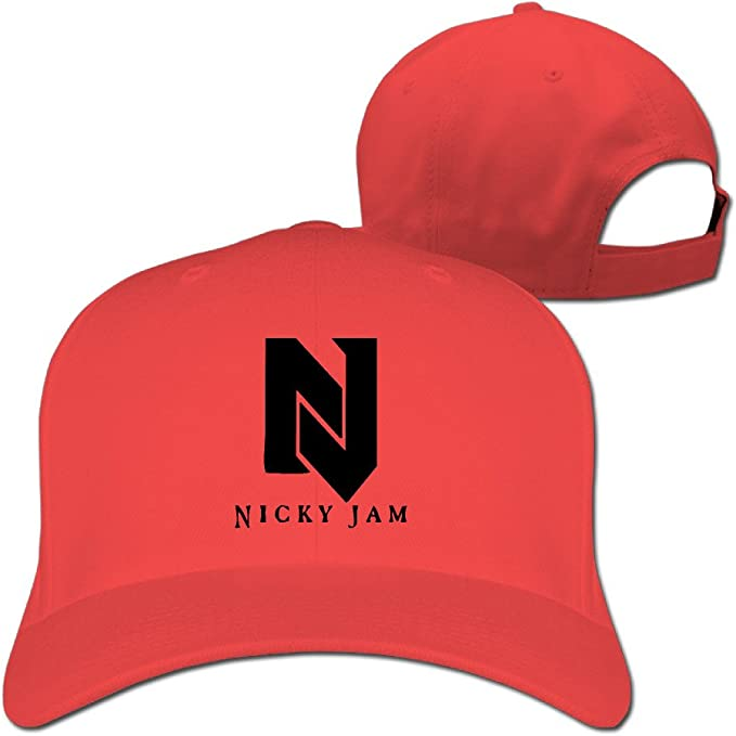 Mens Unisex Nicky Jam Singer Logo El Perdón Rock Cap Adjustable ...