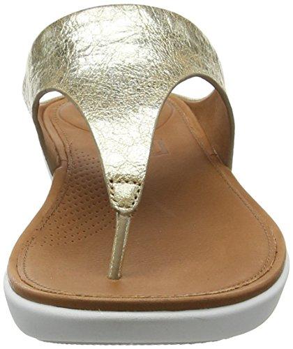 Fitflop Dame Banda Ii Toe-rem Sandaler-metallisk Peeptoe Guld (metallisk Guld 537) NWVSWxcU9