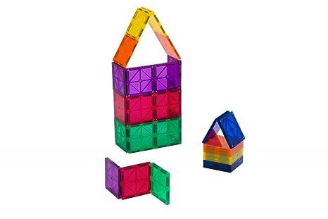 Playmags set di quadrati da pezzi ora con calamite ancora