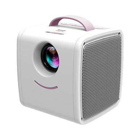 Mini proyector, HD 1080P Pantalla de 70