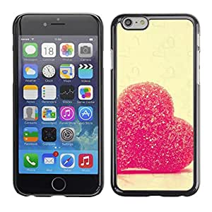 Be Good Phone Accessory // Dura Cáscara cubierta Protectora Caso Carcasa Funda de Protección para Apple Iphone 6 Plus 5.5 // Love Candy Heart