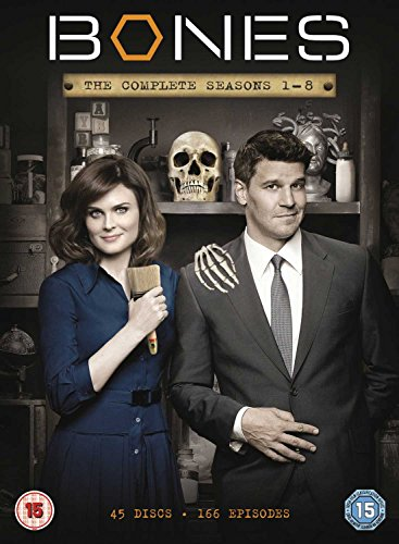 Bones (Complete Seasons 1-8) - 45-DVD Box Set ( Bones - Complete Seasons One to Eight ) [ NON-USA FORMAT, PAL, Reg.2 Import - United Kingdom ] (Bones Season 7 Dvd compare prices)