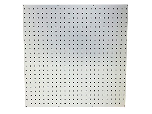 White Poly Pegboard - 24 in. x 24 in.