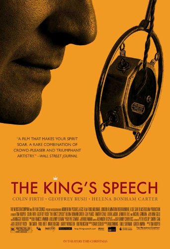 The King's Speech Style A Movie Poster