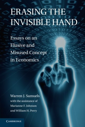 the invisible hand essay I know of no other piece of literature that so succinctly, persuasively, and  effectively illustrates the meaning of both adam smith's invisible hand—the  possibility of.