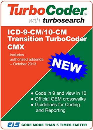 ICD-9/10-CM Transition TurboCoder CMX 2014 - Perpetual OFF-LINE License -  NO Ongoing Subscription FEEs [Download]