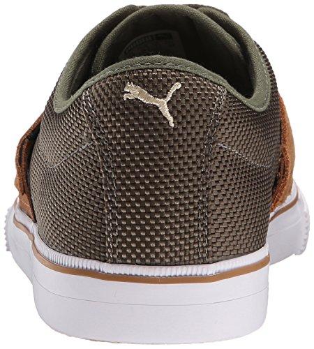 Puma Heren El Ace Ripstop Sneaker Verbrand Olijf / Aardeekhoorn