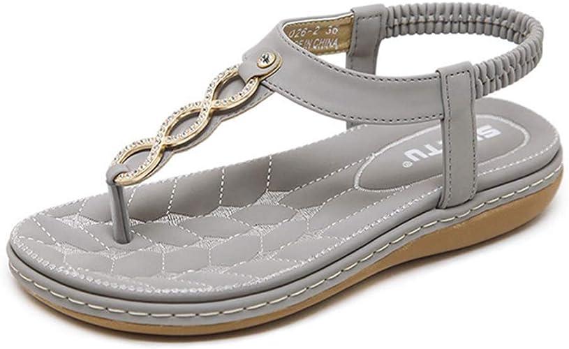 Women Casual Beach Sandals,Lady Slipper Flat Flip Flops Shoes