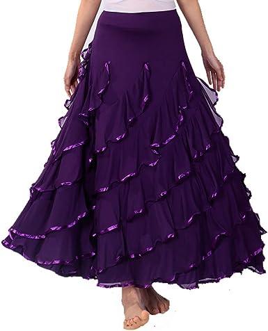 Falda de Baile Moderno para Mujer Salón de Baile Baile de ...
