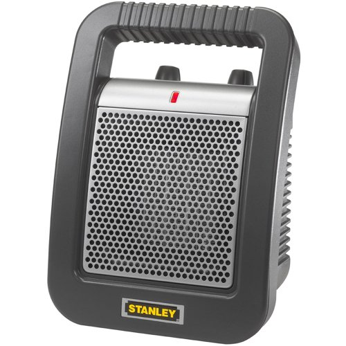 Lasko 675945 Stanley Ceramic Utility Heater, 12-Inch (Space Heater Utility compare prices)