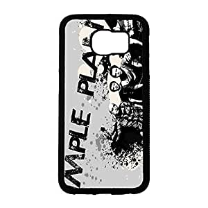 Wonderful Simple Plan Phone Case Cover For Samsung Galaxy S6 With SP Groups Pattern