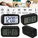 2016 Digital Alarm LED Clock Light Control Backlight Time Calendar Thermometer snooze, Novelty LED Alarm Clock, Digital Thermometer, Bedside Desk Clock EC-410