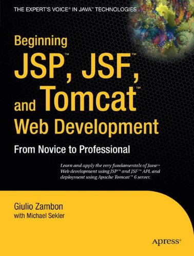Beginning JSP, JSF and Tomcat Web Development: From Novice to Professional by Apress