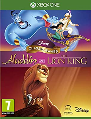 Disney Classic Games: Aladdin and The Lion King: Amazon.es ...