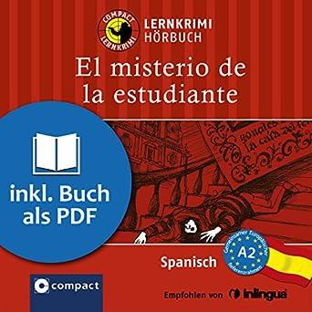 Amazon.com: El misterio de la estudiante: Compact Lernkrimis ...