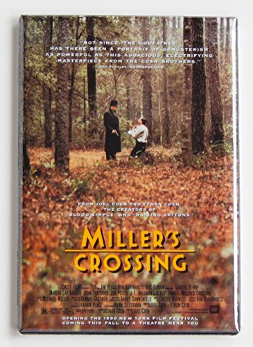 Miller's Crossing Movie Poster Fridge Magnet (2.5 x 3.5 inches)