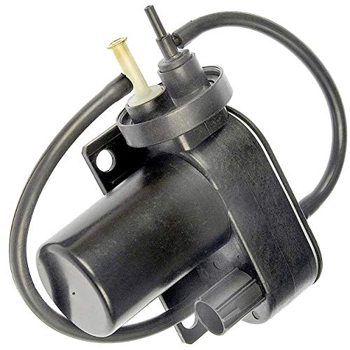 APDTY 015325 Vacuum Pump - Electric 12 Volt Supplemental For HVAC; Cruise; 4WD (Numerous Custom Uses)(BRPV7, VCP112, 6C3Z2A451A, 6C3Z2A451BA, F81Z2A451BA, (Ford F-350 Vacuum Pump)