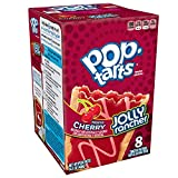 Pop-Tarts Breakfast Toaster Pastries, Frosted JOLLY RANCHER Cherry Flavored, 14.1 oz (8 Count)(Pack of 12)