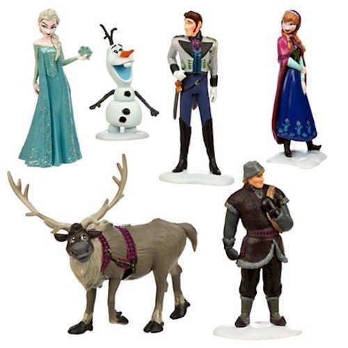 Disneys Frozen Figure Play Set (Set Frozen)
