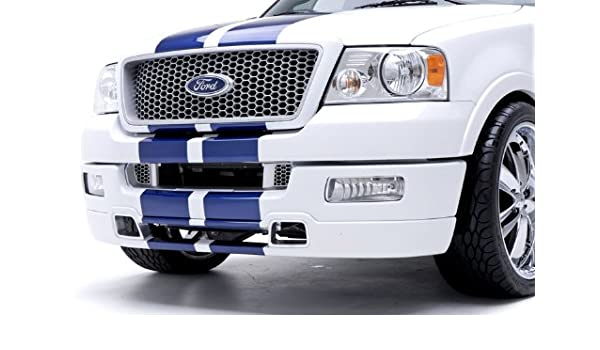 05 F150 Bumper >> 3dcarbon 691110 04 05 Ford F150 Truck Front Bumper Lower Air Dam Valance