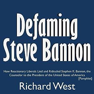 Defaming Steve Bannon Audiobook