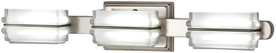 Home Decorators Collection 22803 24 Watt Brushed Nickel Integrated Bath Light