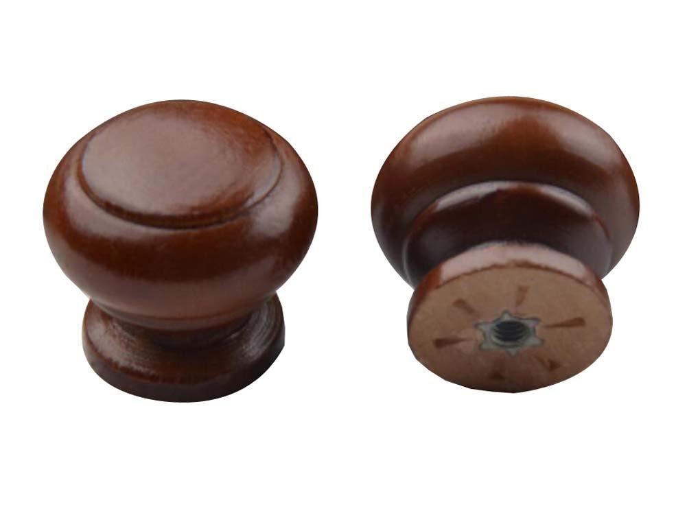 Alien Storehouse 10-Pack Wood Cabinet Dresser Knobs Furniture Drawer Handles - 07